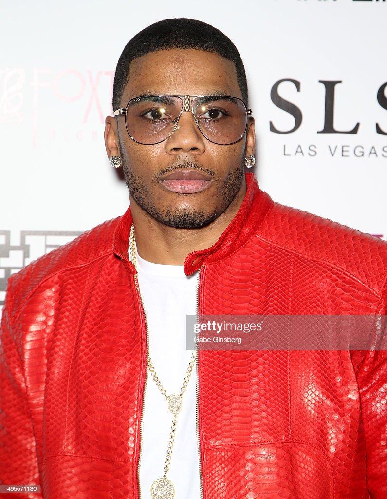 Nelly Headlines DUB Magazine SEMA Party In Las Vegas : News Photo