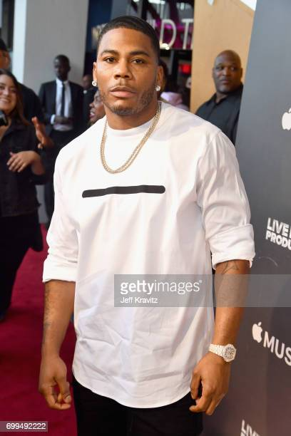 Rapper Nelly attends the Los Angeles Premiere of Apple Music's CAN'T STOP WON'T STOP A BAD BOY STORY at The WGA Theater on June 21 2017 in Beverly...