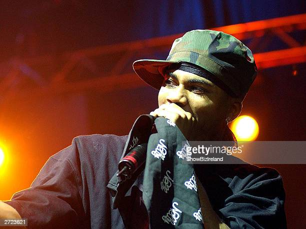 Rapper Nelly plays The Point with the St Lunatics November 12 2003 in Dublin Ireland