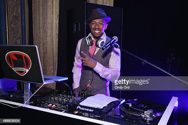 Rapper Nick Cannon performs during the Samsung Hope For Children Gala 2015 at Hammerstein Ballroom on September 17 2015 in New York City