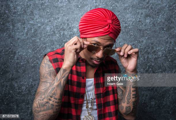 Rapper Nick Cannon poses for a portrait on January 31 2017 in New York City
