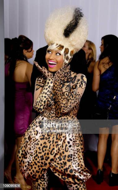 Rapper Nicki Minaj attends The 53rd Annual GRAMMY Awards at Staples Center on February 13, 2011 in Los Angeles, California.