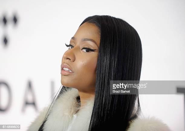 Rapper Nicki Minaj attends TIDAL X 1015 on October 15 2016 in New York City