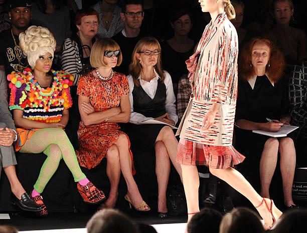 Carolina Herrera - Front Row - Spring 2012 Mercedes-Benz Fashion Week