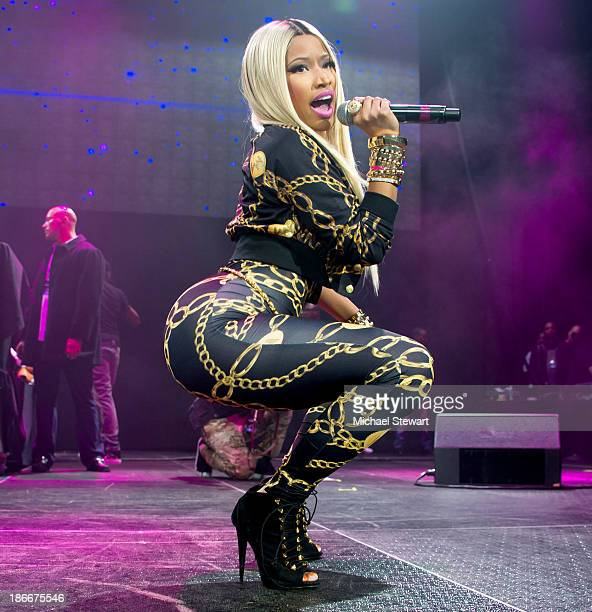 Rapper Nicki Minaj performs during Power 1051 Powerhouse 2013 at Barclays Center on November 2 2013 in the Brooklyn borough of New York City