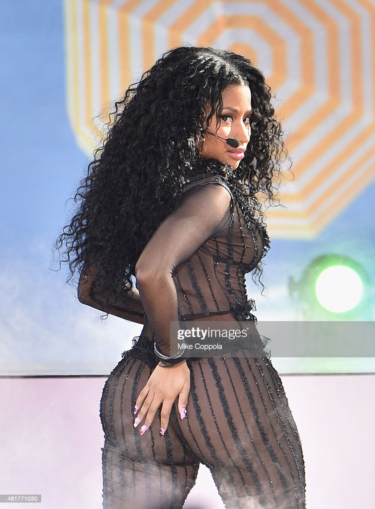 "Nicki Minaj Performs On ABC's ""Good Morning America"""