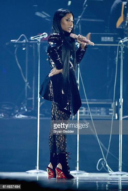 Rapper Nicki Minaj performs onstage during TIDAL X 1015 on October 15 2016 in New York City