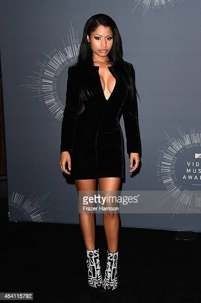 Rapper Nicki Minaj poses in the press room during the 2014 MTV Video Music Awards at The Forum on August 24 2014 in Inglewood California