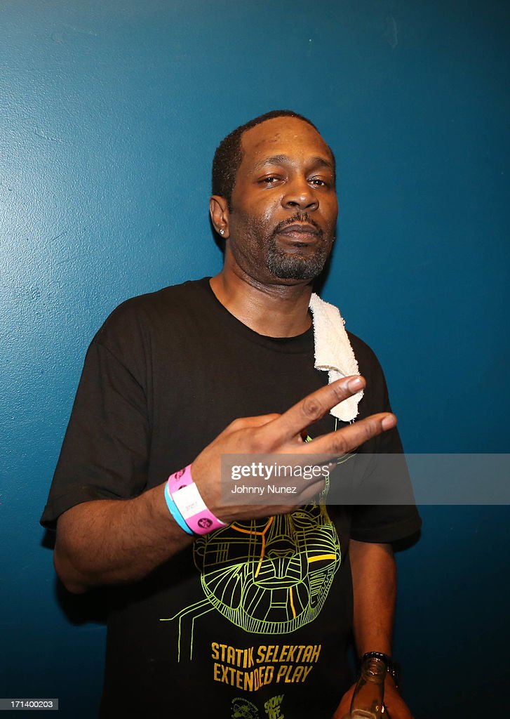 Rapper Nine attends at SOB's on June 18, 2013 in New York City.