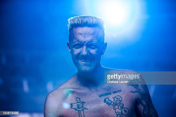 Rapper Ninja of Die Antwoord performs during the 2012 Voodoo Experience at City Park on October 26 2012 in New Orleans Louisiana