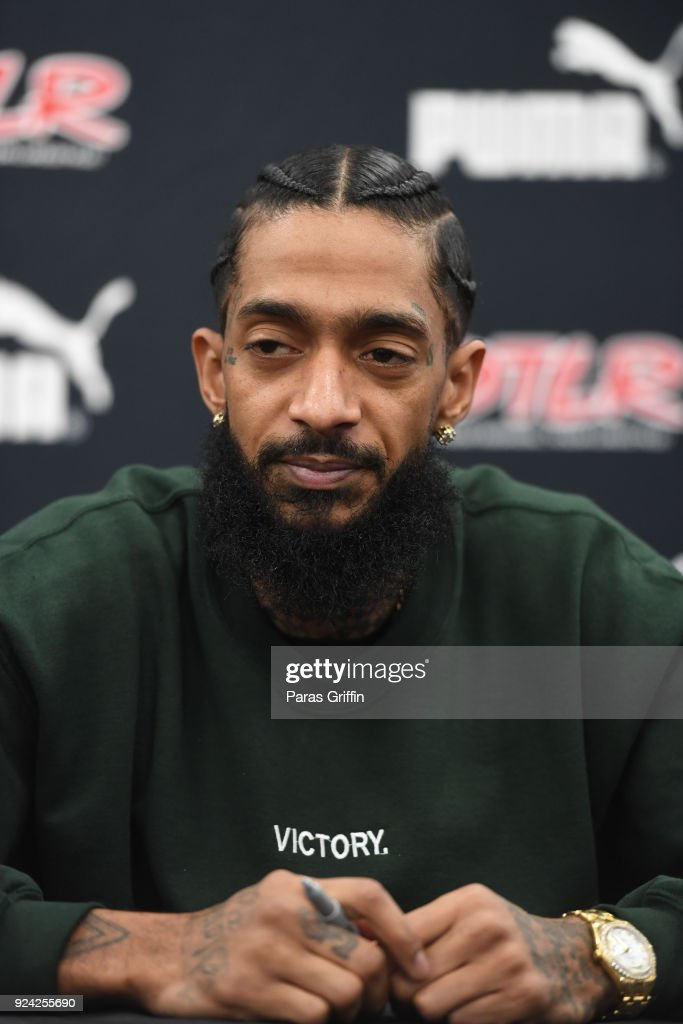 Nipsey Hussle In Store CD Signing