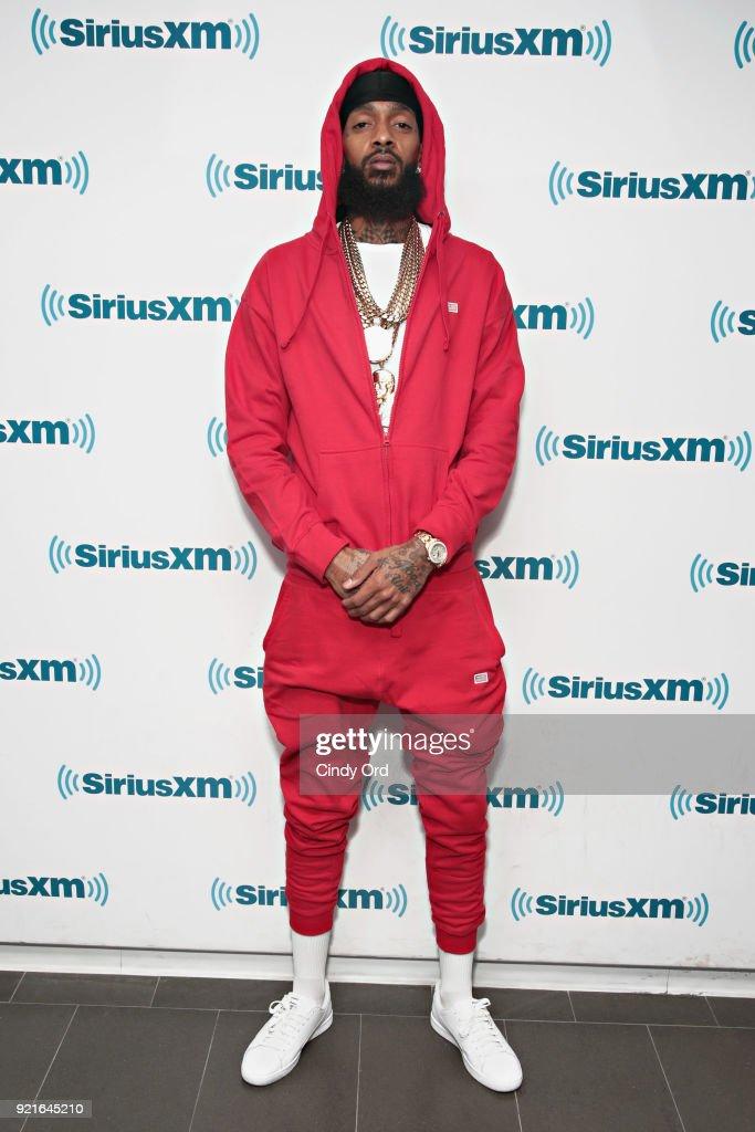 Celebrities Visit SiriusXM - February 20, 2018 : Foto di attualità
