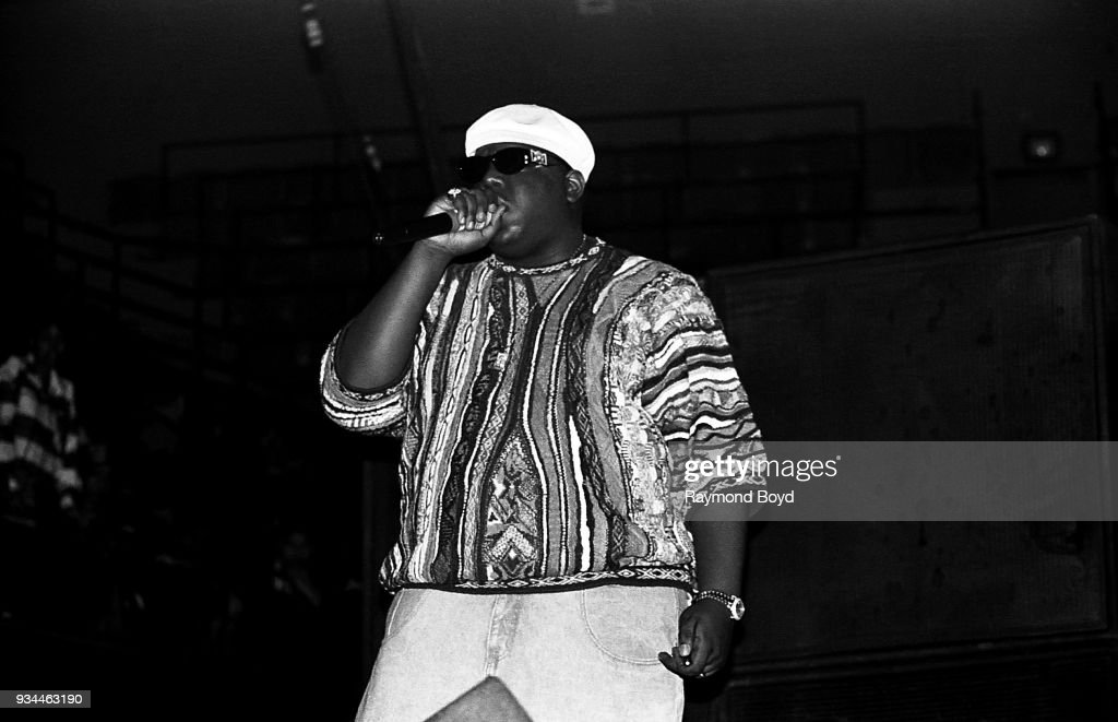 Notorious B.I.G. Live In Concert : News Photo