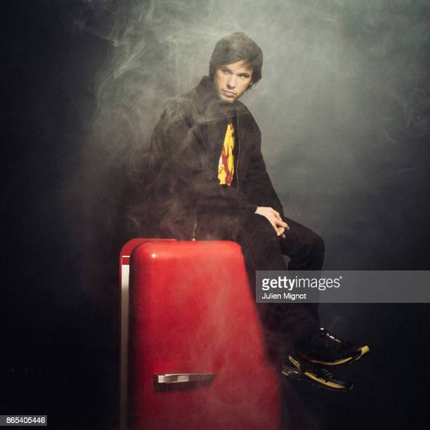 Rapper Orelsan is photographed for L'OBS on October 2 2017 in Paris France