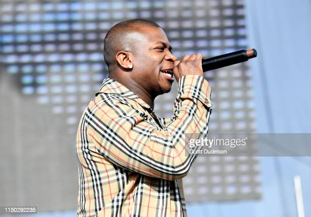 Rapper OT Genasis performs onstage during The Liftoff presented by Power 106 at FivePoint Amphitheatre on May 18 2019 in Irvine California