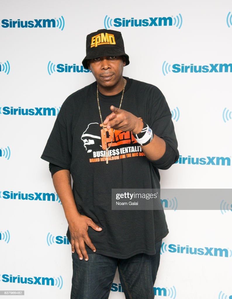 Rapper Parrish Smith of EPMD visits the SiriusXM Studios on August 23, 2017 in New York City.