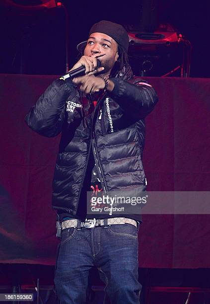 Rapper PartyNextDoor performs at the 'Would You Like A Tour' Concert at Barclays Center on October 28 2013 in New York City