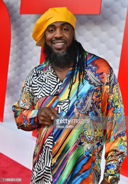 Rapper Pastor Troy attends 5th Annual Tee Up ATL Party at College Football Hall of Fame on August 19, 2019 in Atlanta, Georgia.