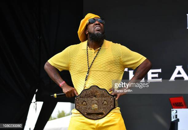 Rapper Pastor Troy performs onstage during 2018 ONE Musicfest at Atlanta Central Park on September 9, 2018 in Atlanta, Georgia.