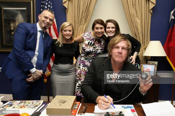 Rapper Paul Wall and musician Jack Ingram at The Recording Academy®'s annual GRAMMYs on the Hill® Advocacy Day which brought more than 100 music...