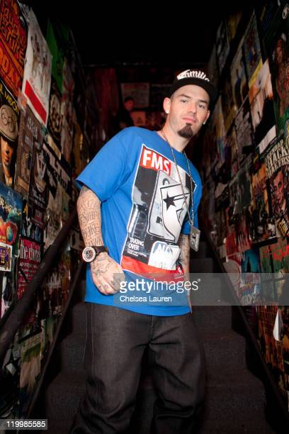 Rapper Paul Wall attends Jeremy 'Twitch' Stenberg's famous Stars And Straps XGames launch event at The Roxy Theatre on July 27 2011 in West Hollywood...