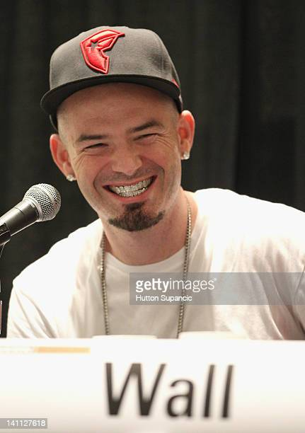 Rapper Paul Wall speaks onstage at 'Feel Rich Health is the New Wealth' Premiere during the 2012 SXSW Music Film Interactive Festival at Austin...