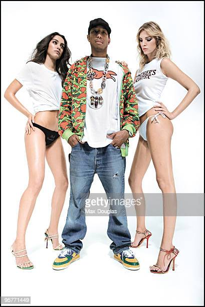 Rapper Pharrel Williams poses for a portrait in shoot in Milan on October 26 2005