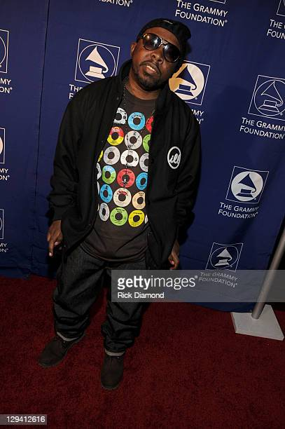 Rapper Phife Dawg of hiphop group A Tribe Called Quest attends the 53rd Annual GRAMMY Awards Music Preservation Project 'Word Revolution' at the...