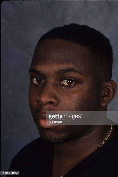 Rapper Phife Dawg of the hip hop group A Tribe Called Quest poses for a portrait in September 1993 in New York