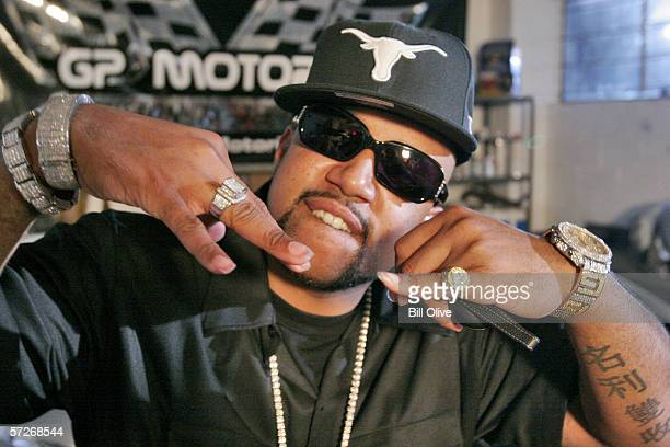 Rapper PimpC of the rap group UGK during the video shoot for the lead off street anthem Pourin Up from PimpC's highly anticipated solo album...