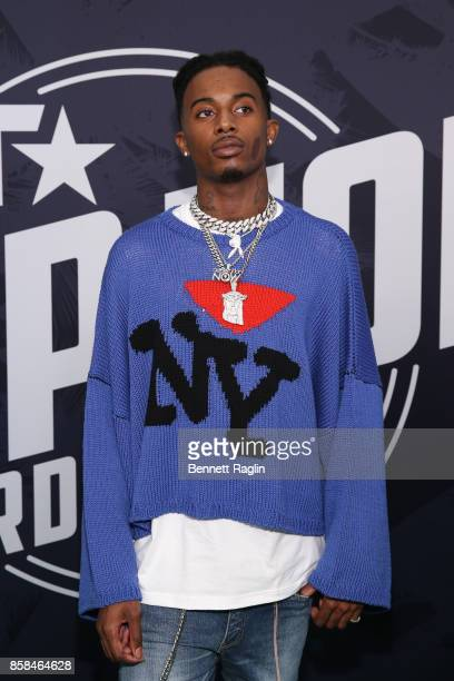 Rapper Playboi Carti attends the BET Hip Hop Awards 2017 at The Fillmore Miami Beach at the Jackie Gleason Theater on October 6 2017 in Miami Beach...