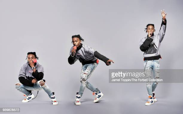 Rapper Playboi Carti is photographed for Forbes Magazine on October 29 2017 in New York City PUBLISHED IMAGE CREDIT MUST READ Jamel Toppin/The Forbes...