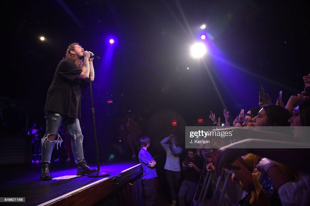Post Malone In Concert - New York, New York : News Photo
