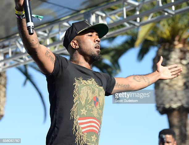 Rapper Problem performs onstage at the Power 106 Powerhouse show at Honda Center on June 3 2016 in Anaheim California