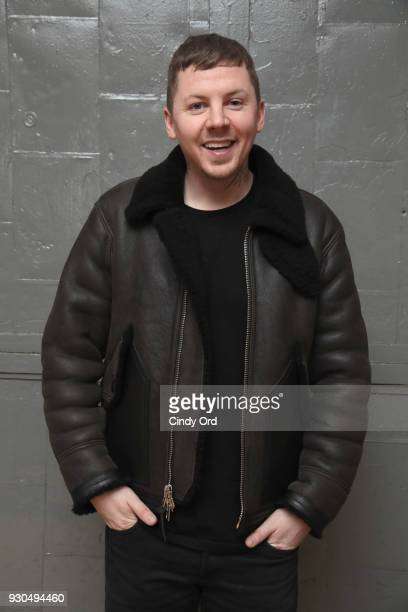 Rapper Professor Green attends the Gurls Talk Festival in collaboration with Coach and Teen Vogue at Industry City on March 11 2018 in New York City