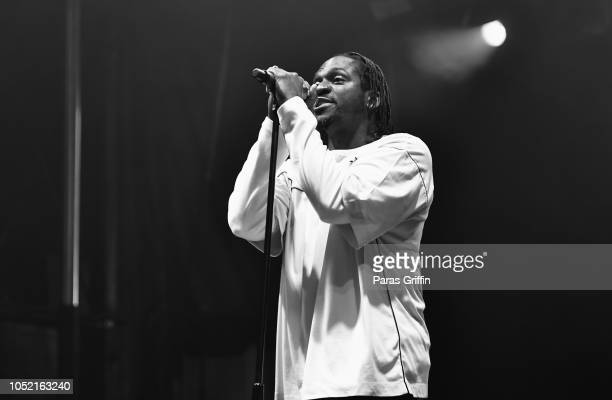Rapper Pusha T performs onstage during 2018 AfroPunk Festival Atlanta Carnival of Consciousness at 787 Windsor on October 14 2018 in Atlanta Georgia