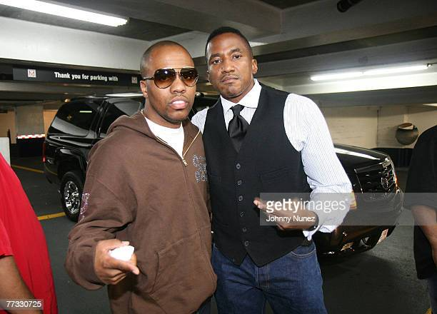 Rapper QTip and Consequence of A Tribe Called Quest attend the 2007 VH1 Hip Hop Honors at Hammerstein Ballroom on October 4 2007 in New York City
