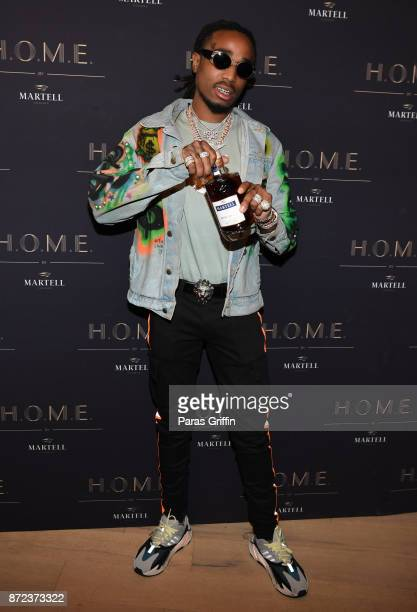 Rapper Quavo of the Migos attends HOME by Martell on November 9 2017 in Atlanta Georgia