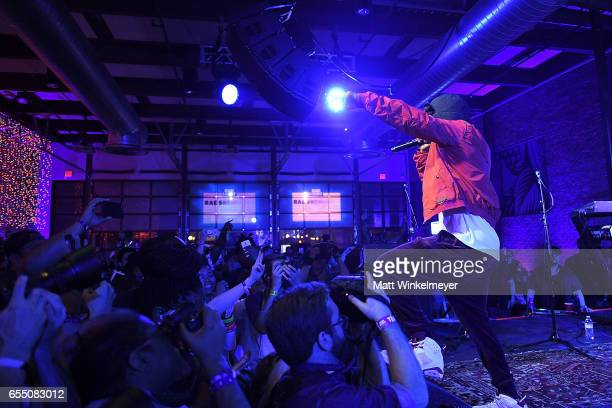 Rapper Rae Sremmurd and The Roots perform during the Budlight Event 2017 SXSW Conference and Festivals on March 18 2017 in Austin Texas