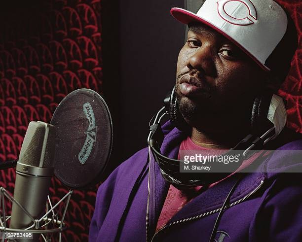 Rapper Raekwon poses for a portrait shoot in 2006 in New York City for The Source magazine