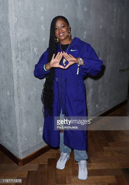 Rapper Rapsody attends the BET Experience Youth Program presented by AEG at Staples Center on June 22 2019 in Los Angeles California