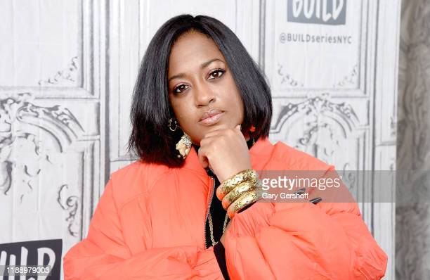 """Rapper Rapsody visits the Build Series to discuss the album """"Eve"""" at Build Studio on November 20 2019 in New York City"""