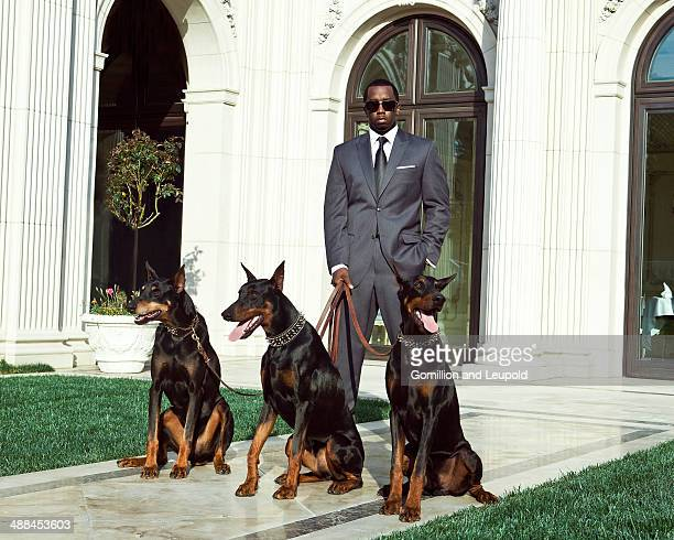 Rapper record producer actor and entrepreneur Sean Combs is photographed for Sean John on May 8 2012 in Los Angeles California