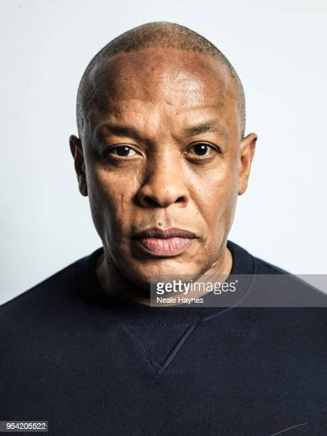 Rapper record producer and entrepreneur Dr Dre aka Andre Romelle Young is photographed for the Times on March 14 2018 in London England