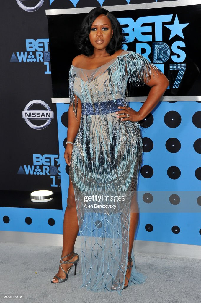 Rapper Remy Ma arrives at the 2017 BET Awards at Microsoft Theater on June 25, 2017 in Los Angeles, California.