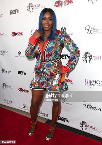 Rapper Remy Ma at MC Lyte Honors Remy Ma Wale During the 5th Year Anniversary Celebration of Hip Hop Sisters Foundation at Wilshire Lofts on June 23...