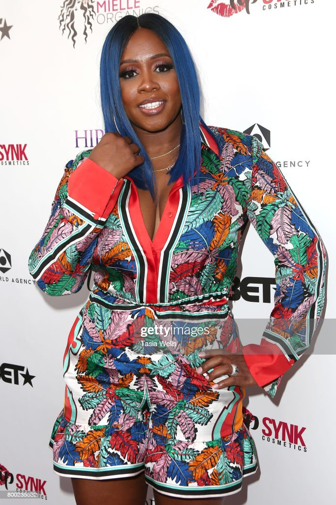 Rapper Remy Ma at MC Lyte Honors Remy Ma & Wale During the 5th Year Anniversary Celebration of Hip Hop Sisters Foundation at Wilshire Lofts on June 23, 2017 in Los Angeles, California.