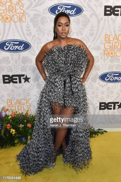 Rapper Remy Ma attends Black Girls Rock! at NJ Performing Arts Center on August 25, 2019 in Newark, New Jersey.