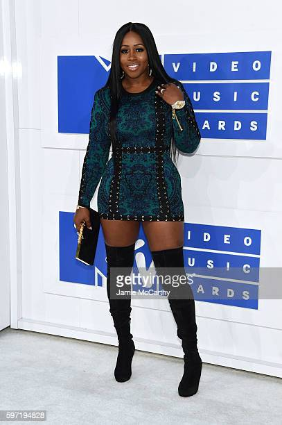 Rapper Remy Ma attends the 2016 MTV Video Music Awards at Madison Square Garden on August 28 2016 in New York City