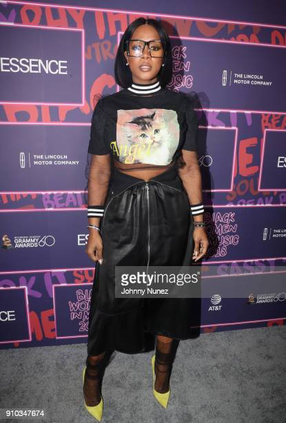 Rapper Remy Ma attends the Essence 9th annual Black Women in Music at Highline Ballroom on January 25 2018 in New York City
